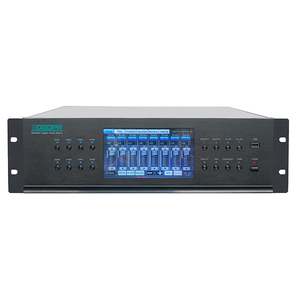 MAG808 8x8 Audio Matrix